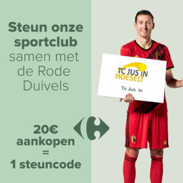 Steun onze sportclub